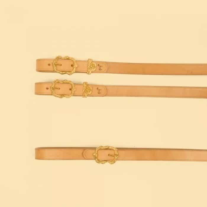Zügel aus Leder zum Reiten bei Picadera