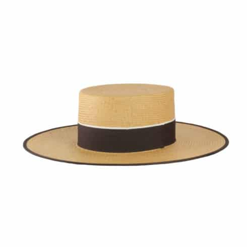 Chic straw hat Cordobes for Riding at Picadera